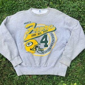 Brett Favre Packers 1995 NFL MVP Starter Crewneck